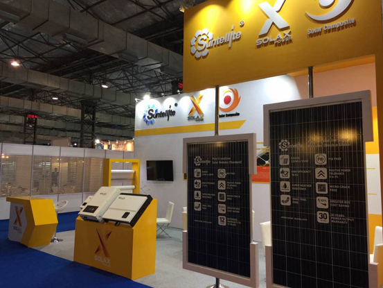 Thank you for  visiting SUNTELLITE at Intersolar India 2016