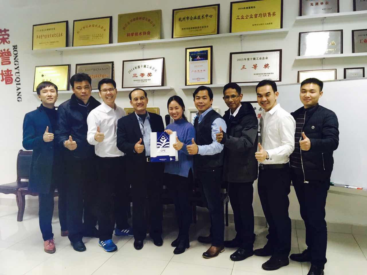 Warmly welcome CPE Technical Teams from Charoen Pokphand Group visiting our Suntellite Factory